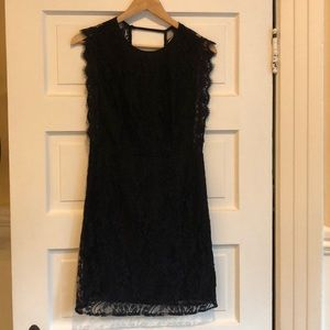Urban Outfitters Kimchi Blue black lace dress